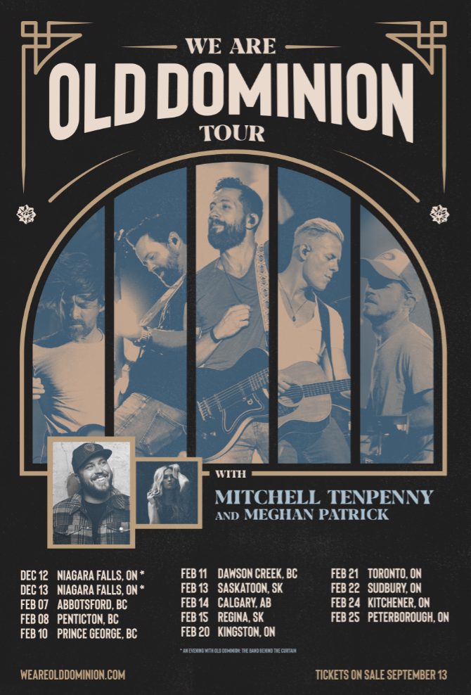 Old Dominion | Country Music Artist Info | New Information