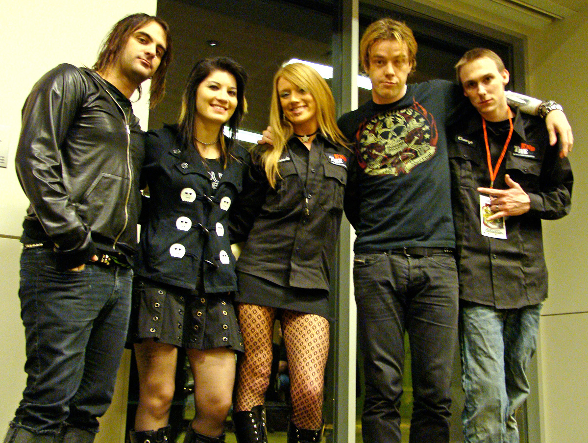 Sick Puppies Stop By KZND/Anchorage
