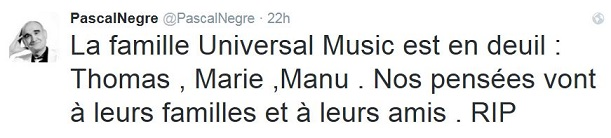 Pascale Tweet