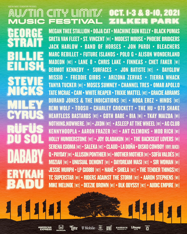 Austin City Limits Festival 2021