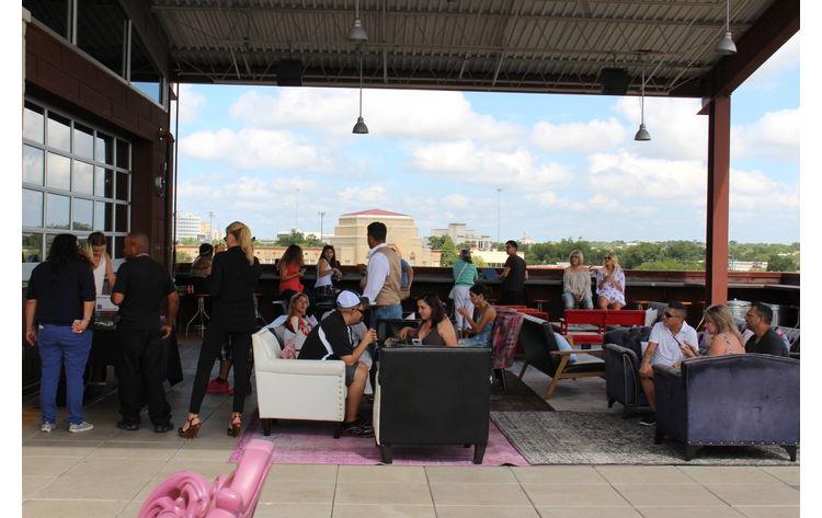 Roof Party In San Antonio