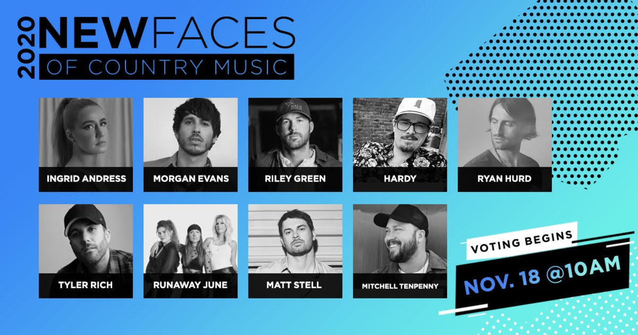 New Faces Nominees Unveiled For CRS 2020