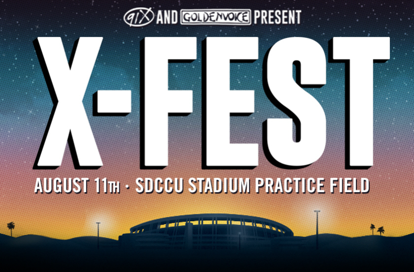 91X San Diego Rolls Out X Fest 2018 Lineup