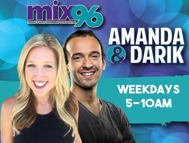 Amanda Carroll And Darik Kristofer Grab Wakeups On Kymx (mix 96)/sacramento