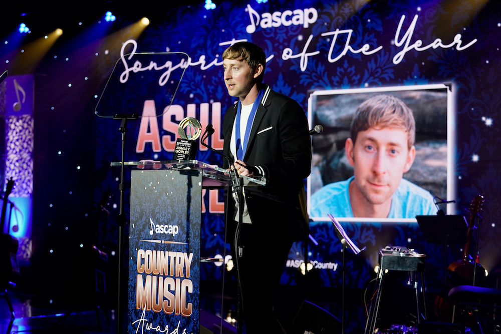 Ashley Gorley Grabs 'Country Music Songwriter Of The Year' Honors For The 7th Time At ASCAP Country Awards