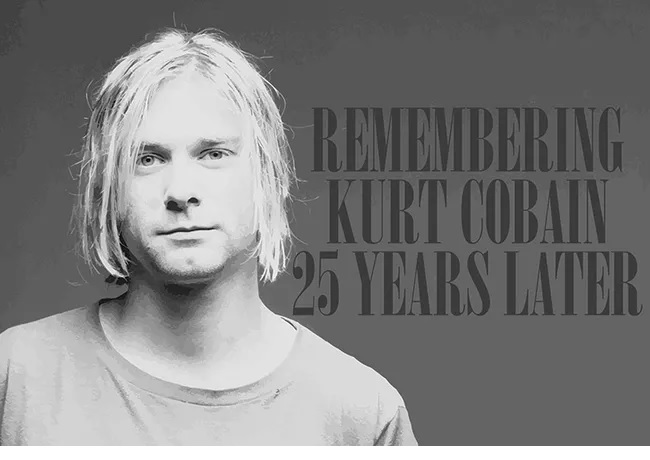 Nirvana remembers Kurt Cobain on 25th anniversary of his death