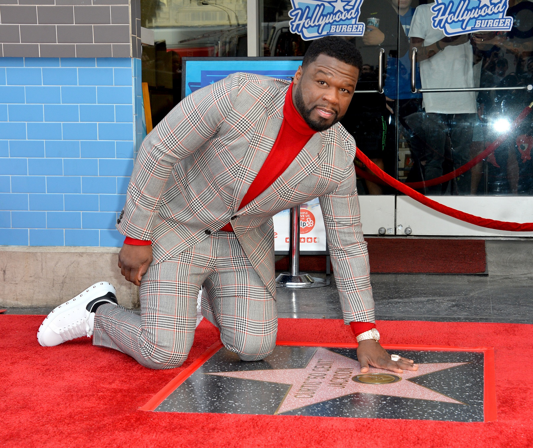 Curtis '50 Cent' Jackson Gets Star On Hollywood Walk Of Fame | AllAccess.com
