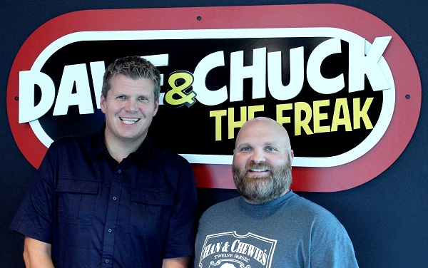 Wrif Detroit Wakeup Crew Dave Chuck The Freak Morning Show To