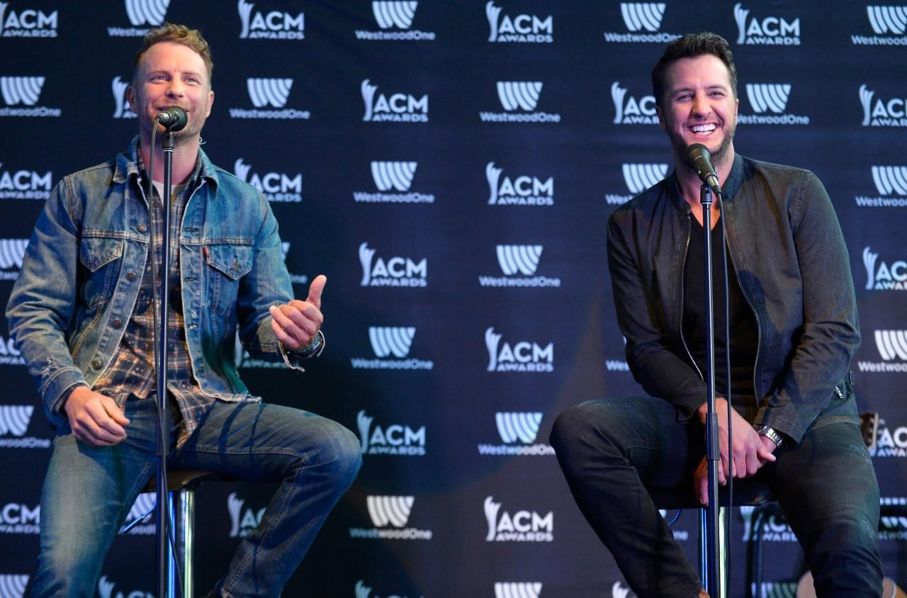 Luke Bryan and Dierks Bentley to Co-Host ACM Awards