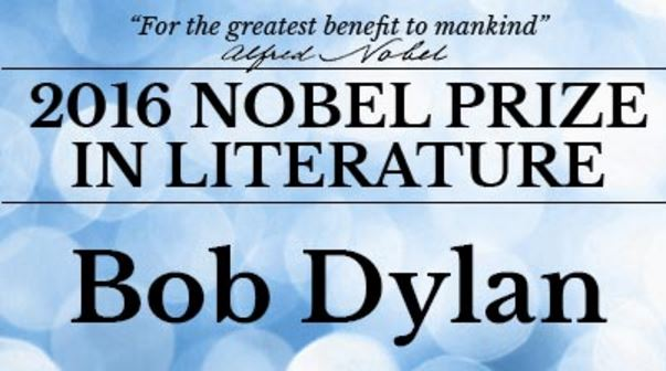 Bob Dylan Wins Nobel Prize In Literature | AllAccess.com
