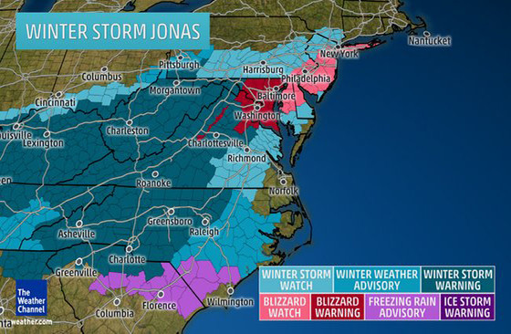 The East Coast Digs Out From Winter Storm Jonas -- And A Blizzard ...