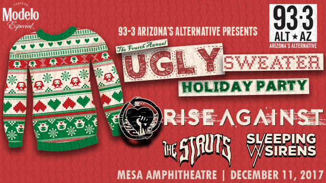KDKB ALT AZ 933 Phoenix Sets Lineup For 4th Annual Ugly Sweater Holiday Party