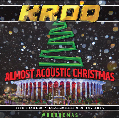 kroqlos angeles releases lineup for 28th annual kroq almost acoustic christmas - Kroq Christmas