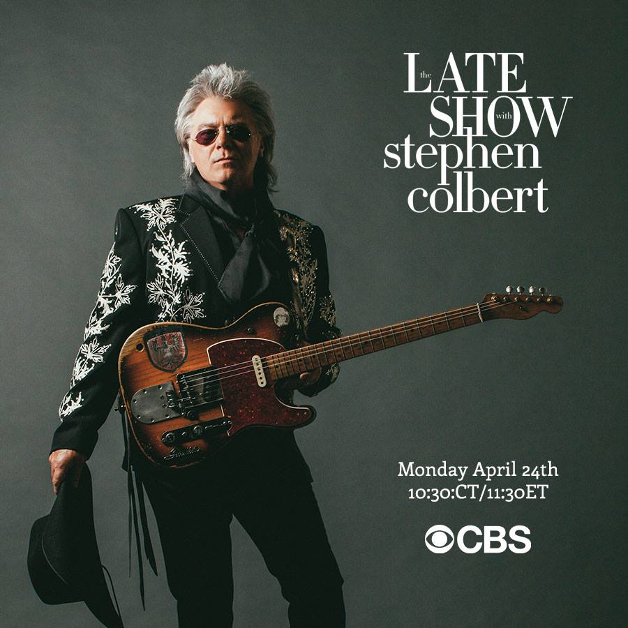 Marty Stuart Performs Time Dont Wait On The Late Show With