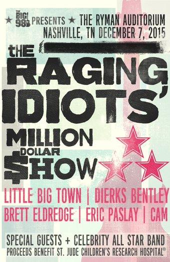 Bobby Bones The Raging Idiots Million Dollar Show Brings In Talent Bucks For St Jude