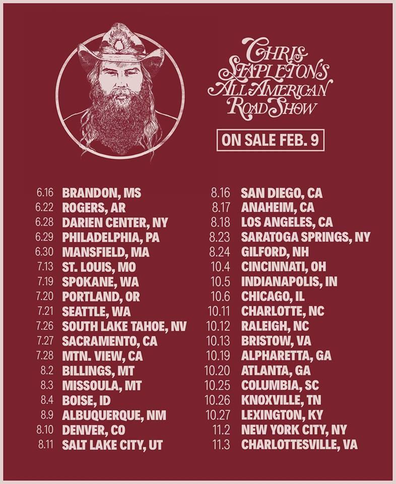 Archive Tour Dates
