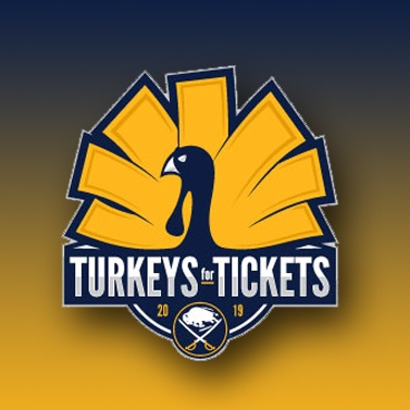 WGR/Buffalo Again Trades Sabres Tickets For Turkeys In Annual Food Drive